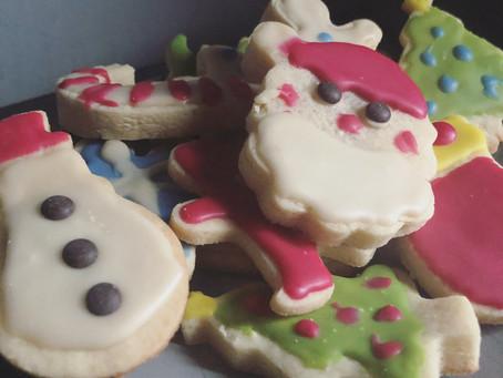 Festive Vegan Sugar Cookies