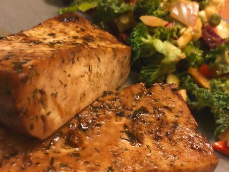 Baked Tofu Steaks