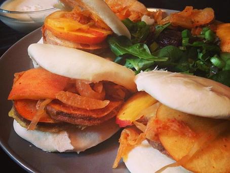 Sweet Potato Bao Buns