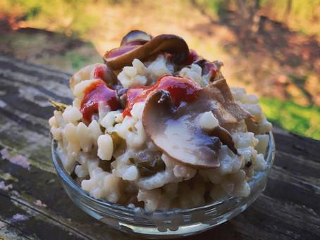 Mushroom & Kale Risotto