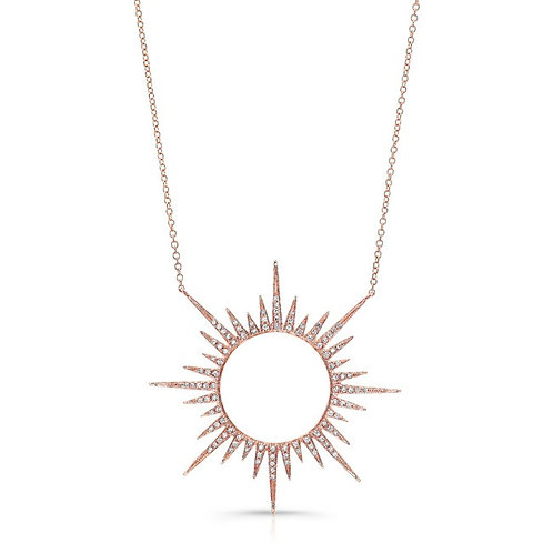 Rose Sol Necklace