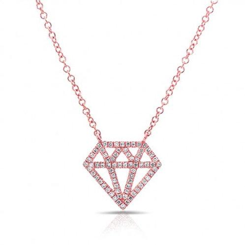 Diamond Icon Necklace