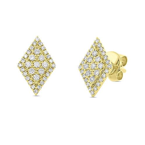 Diamond Ace Studs