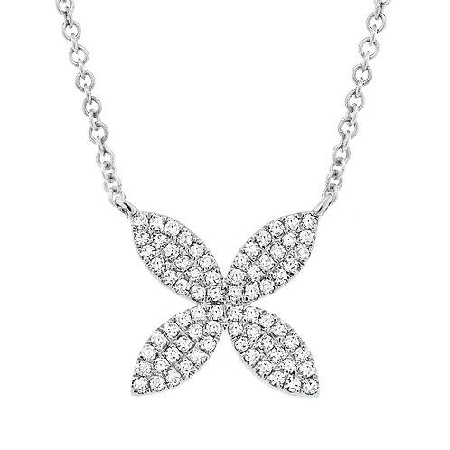 Diamond Pavé Flower