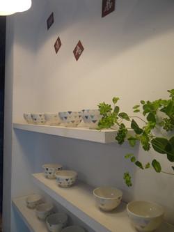 ガーランドお茶碗
