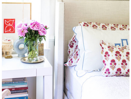 Current Obsession: Perfecting Making the Bed