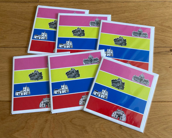 Southampton Places Greetings Card £3.50