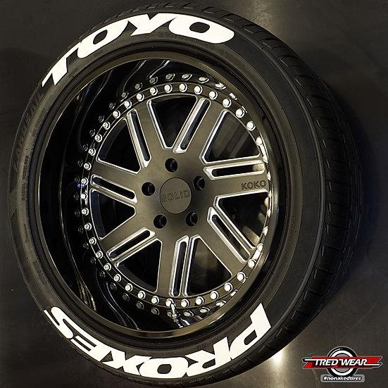 Kit Designer - Toyo Proxes  ( Pour les 4 pneus )