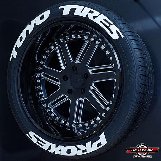 Kit Designer - Toyo Tires Proxes  ( Pour les 4 pneus )
