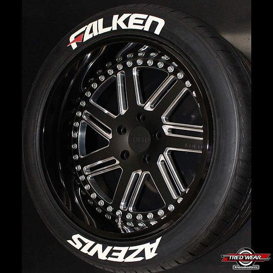 Kit Designer - FALKEN AZENIS  ( Pour les 4 pneus )