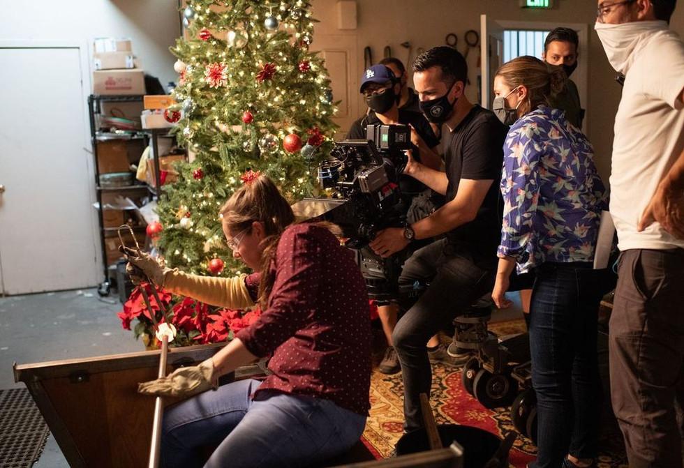Lifetime TV Movie Dear Christmas Featuring Jason Preistley & Melissa Joan Hart & Jessica Schimpf