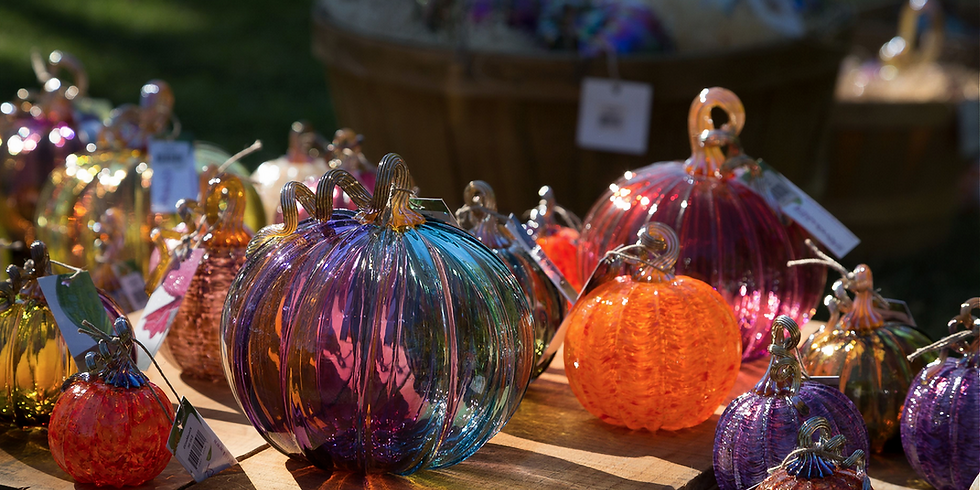*** SOLD OUT*** Sept 29th Glass Pumpkin Festival Tickets