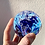 Thumbnail: Ashes in glass keepsake paperweight with 3 colors