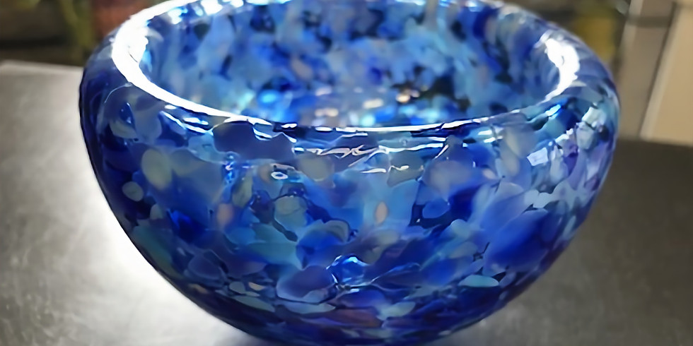 SOLD OUT May 9th @12pm / BLOWN GLASS BOWL Event - Each student makes (1) BOWL per ticket