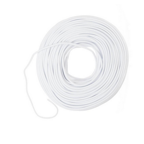 White Cloth Wire $10/Ft