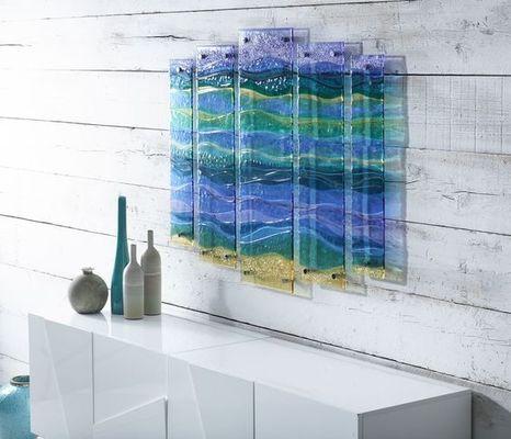 "Fused Glass 10"" Panel"
