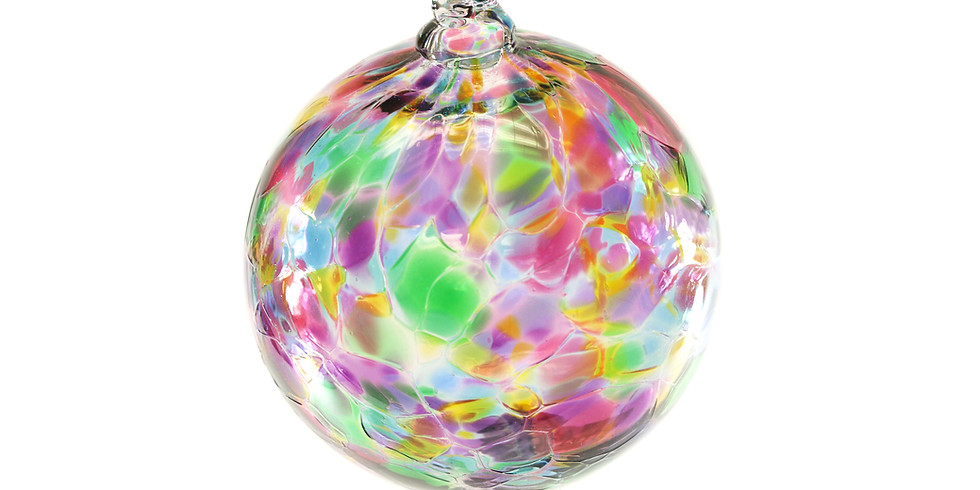 Dec. 7th 10am start time Blown Glass Ornament Holiday Event