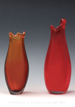 Custom Valentines Day Vases