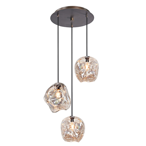 3 Piece Crinkle Lighting Set