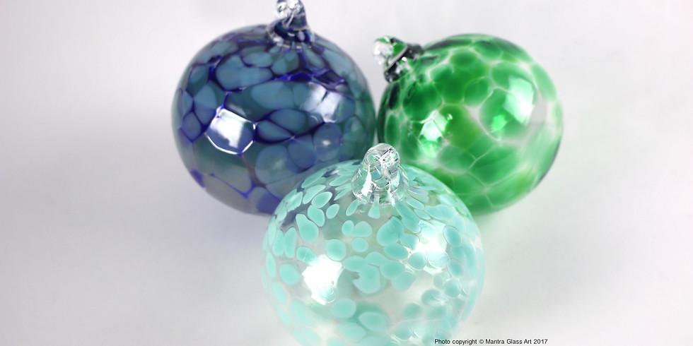 Nov. 29th - 9am ornament class! Make your own blown glass piece