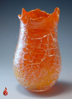 Crackle Vase - Abend Gallery