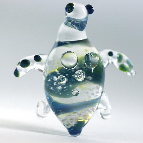 Sea Turtle Memorial Glass Pendant