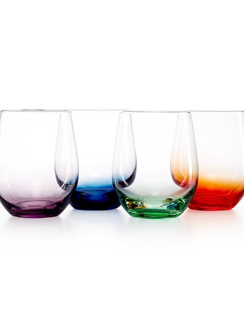 Make your own stemless wine glass, whiskey glass, shot glass