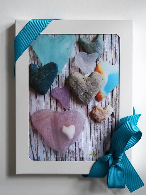 Boxed set of 8 note cards from the heart gallery