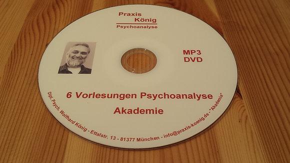 Psychoanalyse 1: 6 Vorlesungen zu den Grundlagen