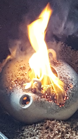 8 : cuisson raku 9