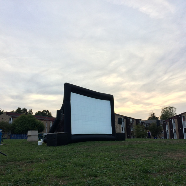 Kingston University 2018: Outdoor Cinema Screens