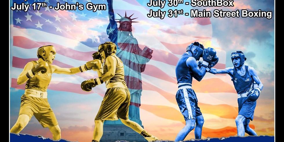 NY Boxing Tournament - Gleason's Qualifier