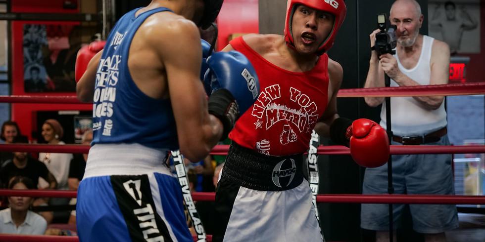 September 2021 Gleason's Amateur Boxing Series