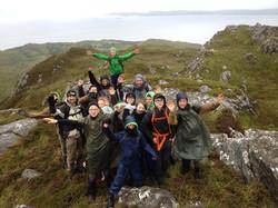school bushcraft expedition Scotland