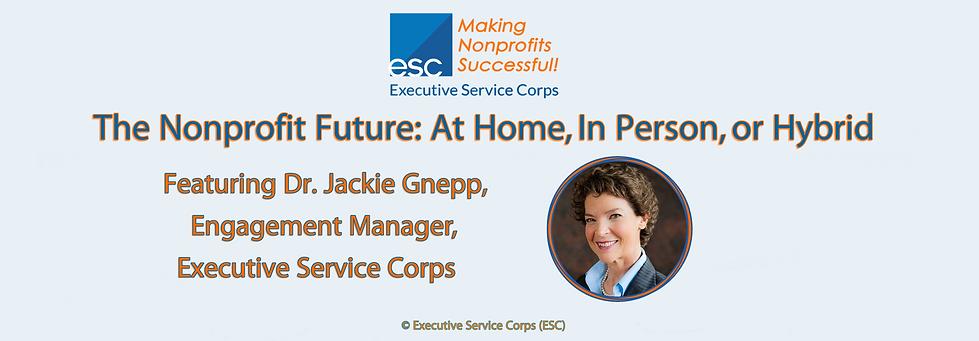 ESC Nonprofit Future - At Home, In Perso