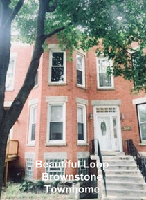 2-Day Stay at Beautiful Loop brownstone Townhome