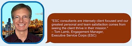 ESC Consultants are Client Focuses Quote