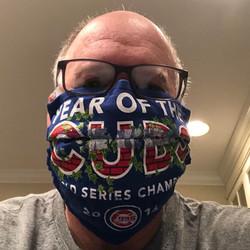 ESC Volunteer in Cubs Mask 1