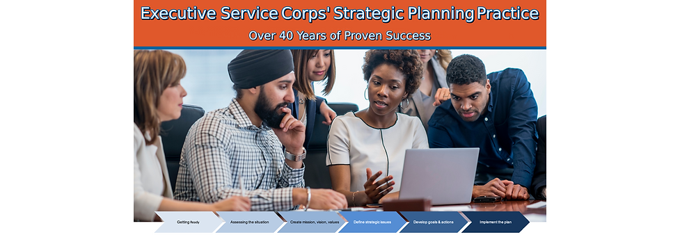 ESC Strategic Planning Practice - Banner