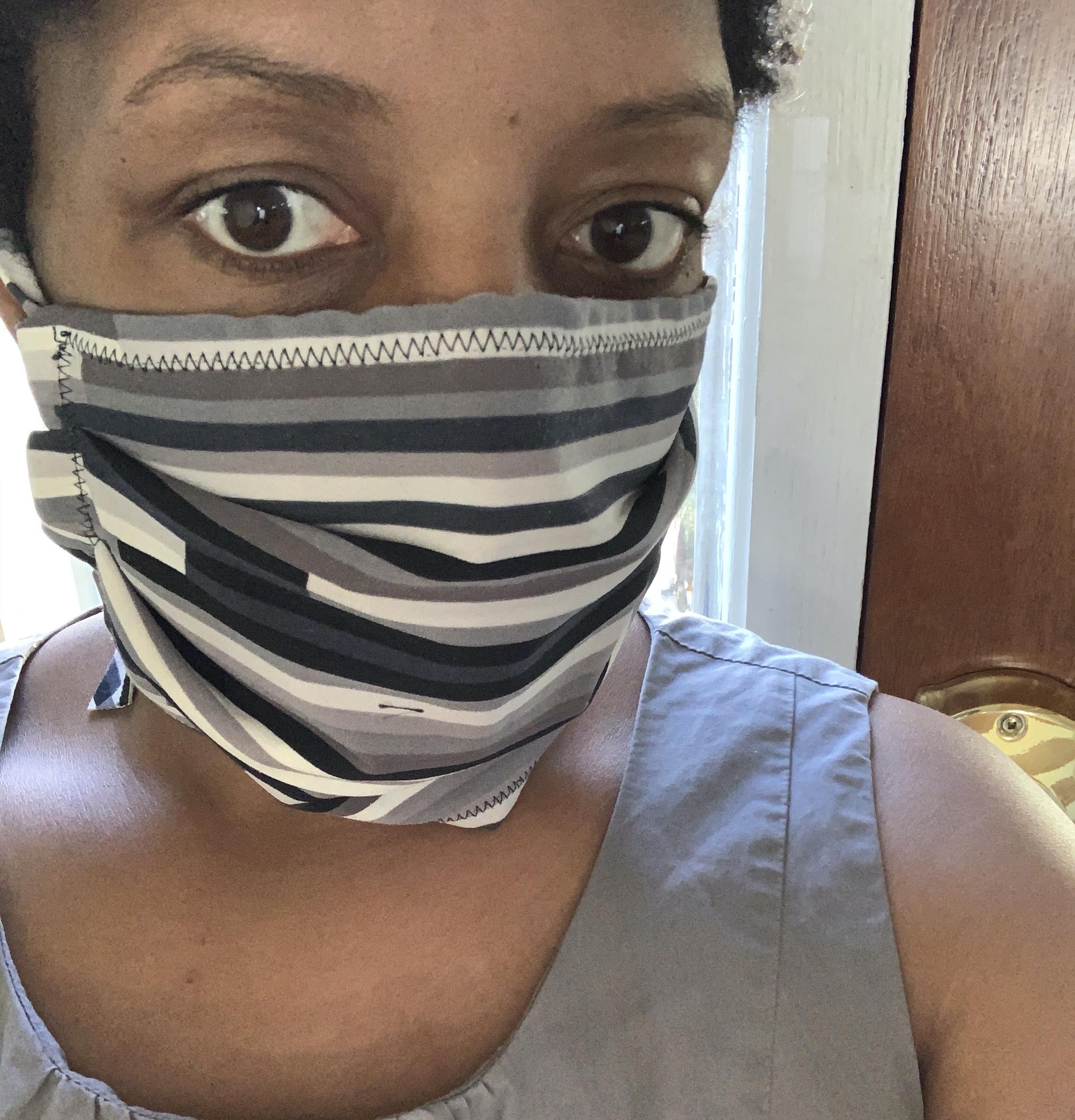 Striped ESC Mask
