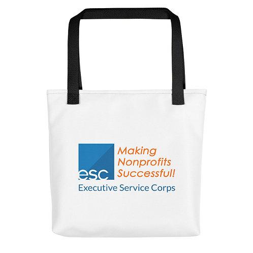 ESC White Tote Bag