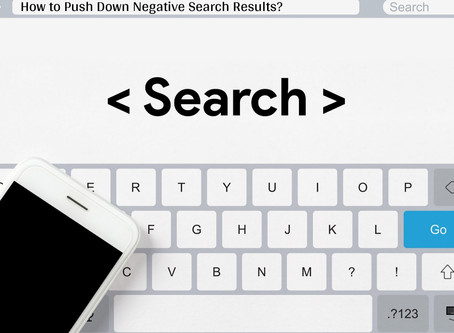 How to Push Down Negative Search Results? Get the Actionable Ways to Suppress It!
