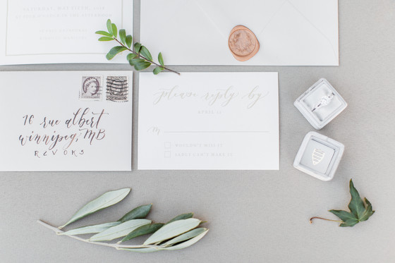 How much are wedding invitations in Canada?