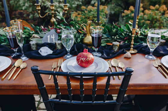 Boho Burgundy Styled Shoot