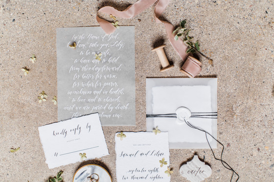 Wedding Invitations: What To Say Where