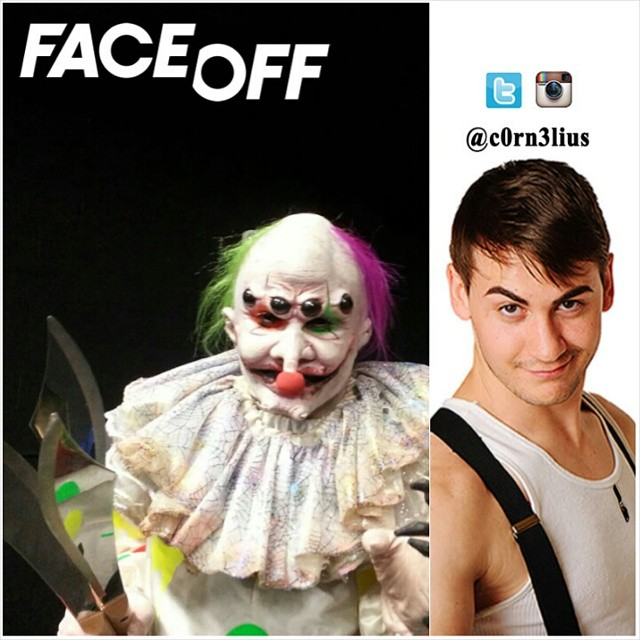 Guess who was an Evil Circus Clown on last night's episode of _FaceOffSyFy