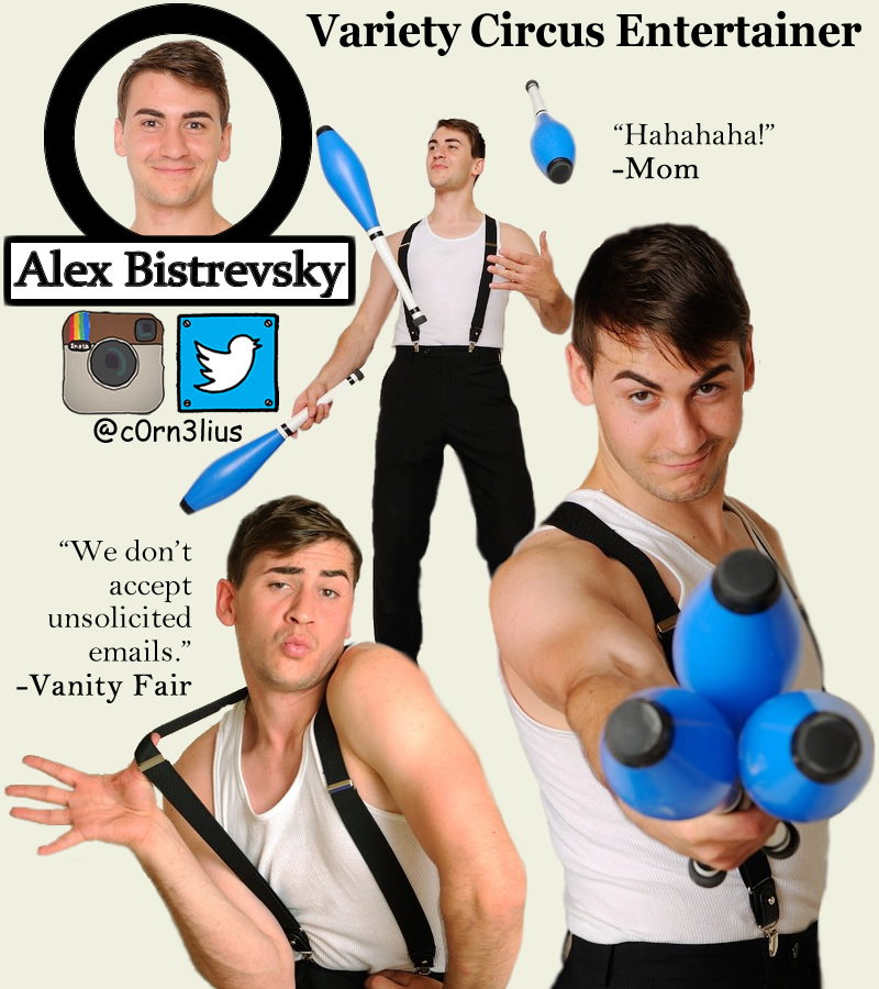 Alex Bistrevsky Performer Photo