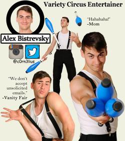 Alex Bistrevsky Performer Photo
