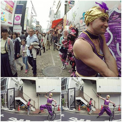 The Sultan takes over Harajuku! 💪👑_#Conquista #Royalty #TakingOver