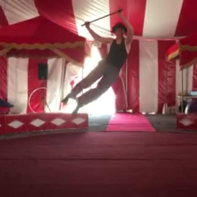 Not bad for Day One of __Venardos In Oz_ circus rehearsals! _)_#Venardos #CircusLife #dancedance